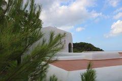 Nice views of Ibiza Saint Antoni. Summer time royalty free stock image