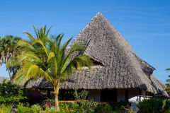 Nice village house in tropics Stock Photography