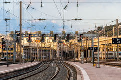 Nice-Ville station - France Royalty Free Stock Photography
