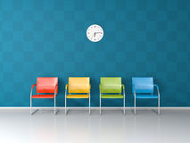 Nice waiting room Stock Photography