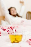 Nice wake up in the morning Royalty Free Stock Images