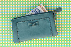 Nice wallet with money Stock Photography