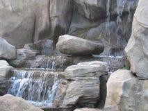 Nice Water. Falls & rocks Stock Images