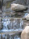 Nice Water. Falls & rocks Royalty Free Stock Photo