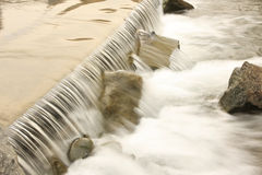 Nice water cascade Royalty Free Stock Image