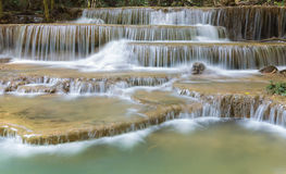Nice water falls in deep forest of Thailand Stock Photography