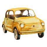 Nice watercolor retro car Stock Images