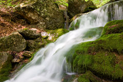 Nice waterfall Stock Images
