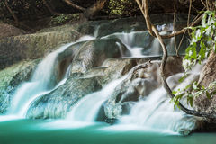 Nice waterfall Stock Photography