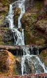 Nice waterfall in the alp brook gorge in Bavaria in Germany Royalty Free Stock Photography