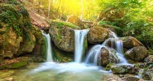 Nice waterfall Royalty Free Stock Photo