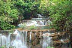Nice Waterfall. In Kanchanaburi, Thailand Royalty Free Stock Photography