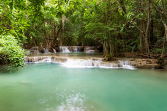 Nice waterfall in thailand Royalty Free Stock Photos