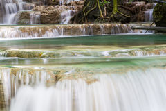 Nice waterfall in thailand Stock Photos