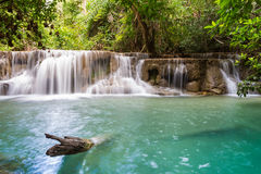 Nice waterfall in thailand Royalty Free Stock Photo