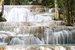 Nice waterfall in thailand Royalty Free Stock Images
