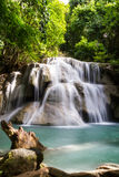Nice waterfall in thailand Stock Images