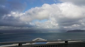Nice weather sea view wellington Royalty Free Stock Photography