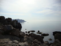 Nice weather. A nice summer day in Crimea Royalty Free Stock Photos