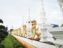 Wat baan den at chiang mai ; thailand. Nice weather in the temple Royalty Free Stock Photos