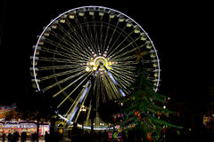 Nice wheel at night Royalty Free Stock Image
