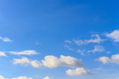 Nice white cloud on the sky Royalty Free Stock Images