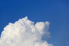 Nice white clouds in sky Stock Image
