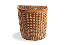 Nice Wicker Basket Royalty Free Stock Photos