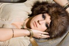 Nice woman Royalty Free Stock Image
