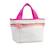 Nice woman fabric handbag isolated  Stock Photos