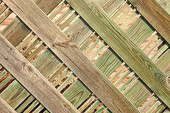 Nice wood fence Royalty Free Stock Images