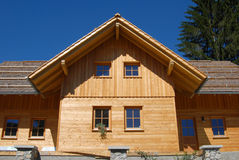 Nice wooden house Royalty Free Stock Photography