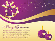 Nice xmas wallpaper Royalty Free Stock Images
