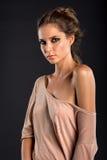 Nice young beautiful girl Stock Photography