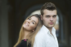 Nice young couple Royalty Free Stock Photography