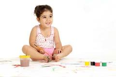 Nice young girl Stock Photography