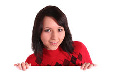 Nice young woman Royalty Free Stock Photo