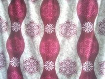 Nicely design for curtains royalty free stock photography