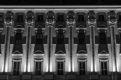 Historic building facade Stock Photography