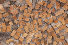 Nicely stacked pieces of wood. Nicely stacked ,pieces of wood Stock Image