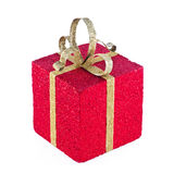 Nicely wrapped present. Stock Photos