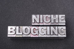 Niche blogging bm Royalty Free Stock Images