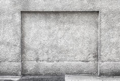 Niche in gray concrete wall Stock Photos