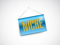 Niche hanging sign illustration design Royalty Free Stock Images
