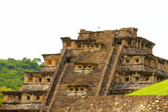 Niches pyramid tajin I Royalty Free Stock Photography