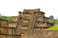 Niches pyramid tajin III Stock Image