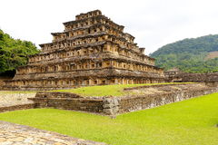 Niches pyramid tajin IV Royalty Free Stock Images