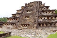 Niches pyramid Tajin V Stock Photography