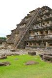 Niches pyramid Tajin VIII. Niches pyramid, Tajin archaeological site, veracruz, mexico stock photo