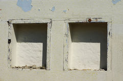Niches in the wall Royalty Free Stock Image
